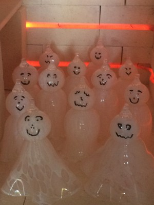 The happiest group of ghosts you could have to haunt you! Order yours today!!