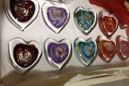 """Mother's Day Memories Made of Hot Glass..."